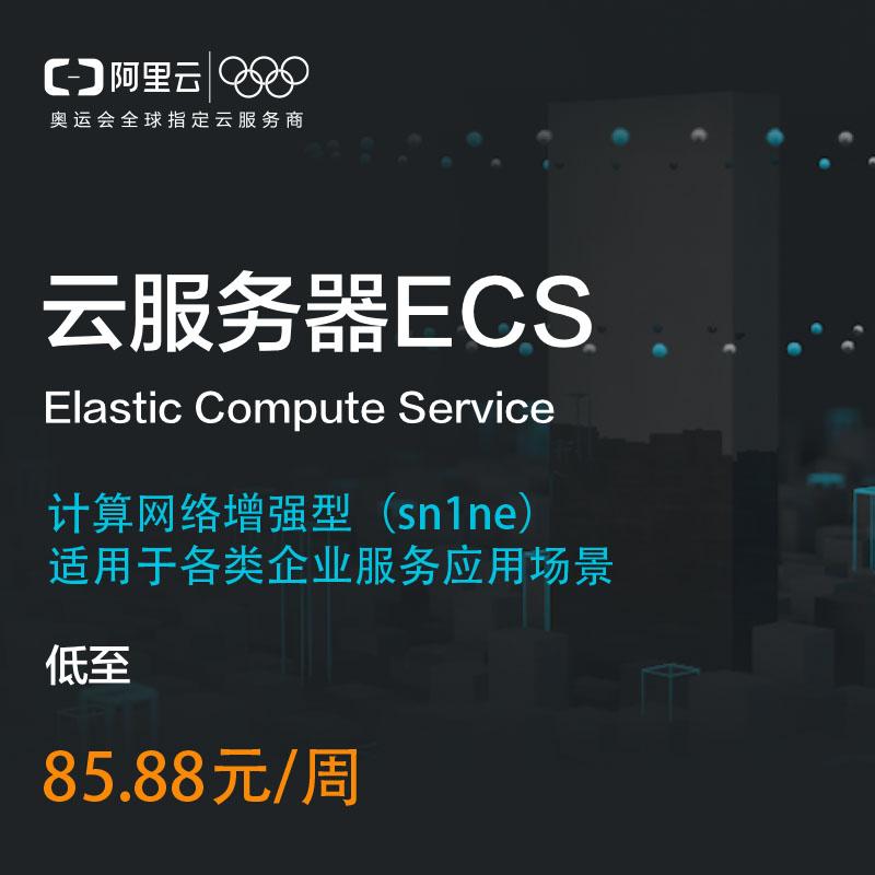 阿里云云服务器计算网络增强型sn1ne各类企业服务应用场景适用